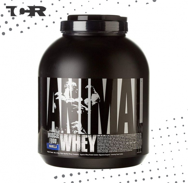 Animal  Whey™ Universal Nutrition® - 4lbs / 1,82 kg - Vainilla