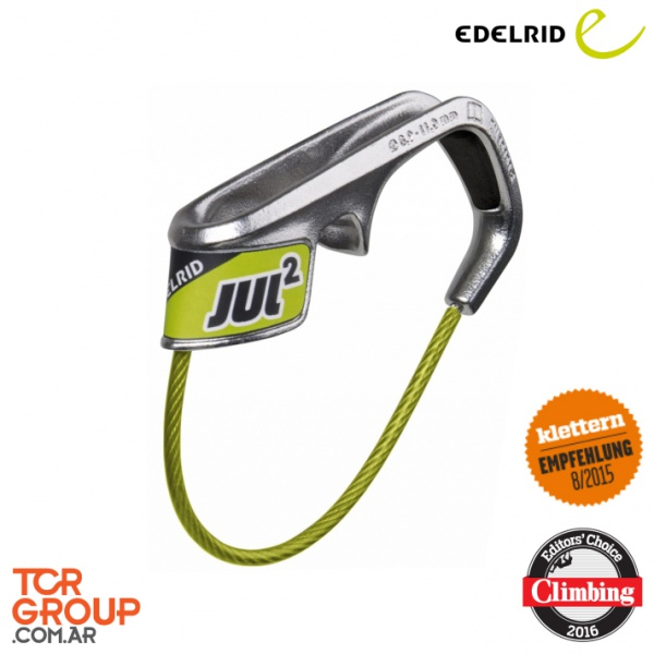 Edelrid Jul² Belay Device - Asegurador de escalada