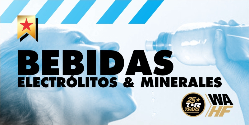 Bebidas de electrólitos & minerales