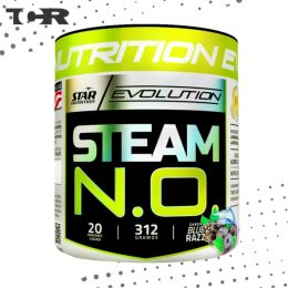 O.N Steam Star Nutrition® - Óxido Nítrico  - 321 g - Blue Razz