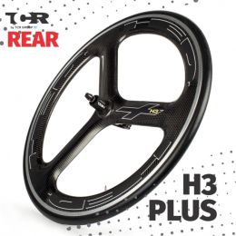 HED H3 Plus Rear Wheel - Clincher/Trasera