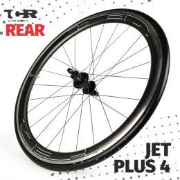 HED Jet 4 Plus Series Rear Wheel - Clincher/Trasera