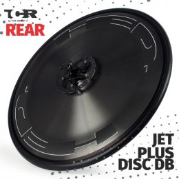 HED Disc Jet Plus DB Rear Wheel - Clincher/Trasera