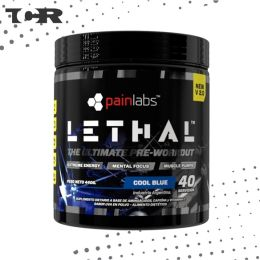 'Pre-Workout Lethal V2.0 - Painlabs - Sabor Cool Blue