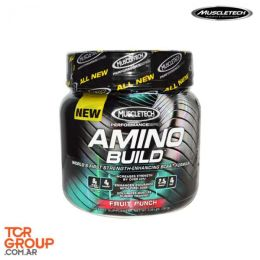 Amino  Build Muscletech™  - Aminoácidos- 261 g - Fruit Punch